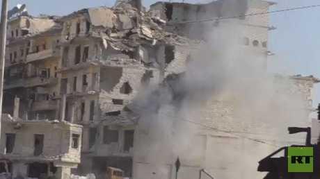 استهدافات النصرة للأحياء السكنية بحلب