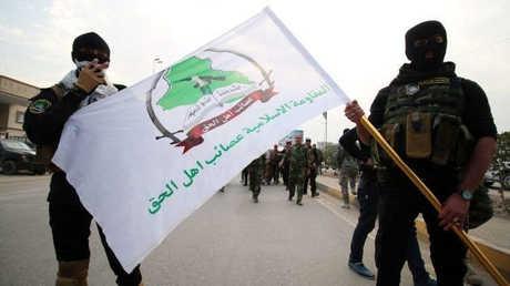 عصائب أهل الحق العراقية (صورة أرشيفية)