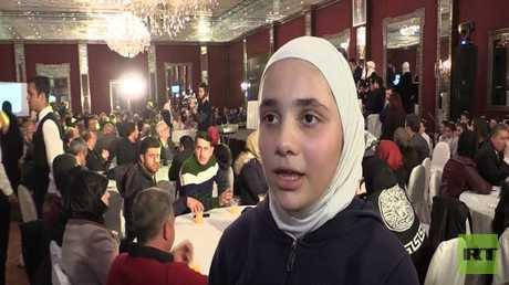 أولومبياد اللغة الروسية في مدارس حلب