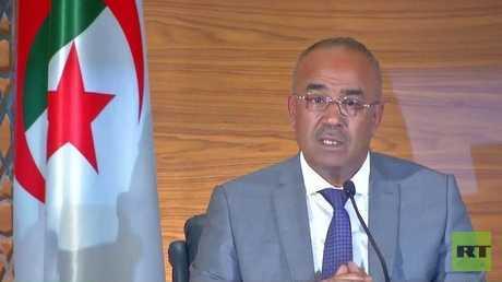 رئيس الوزراء الجزائري المكلف نور الدين بدوي