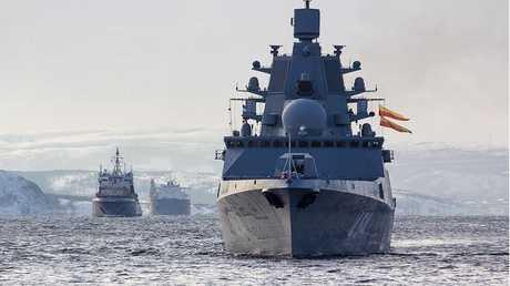 """روسيا تبني فرقاطات جديدة لصواريخ """"كاليبر"""" و""""تسيركون"""""""