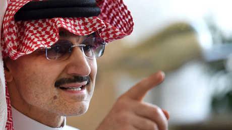 الملياردير السعودي المشهور، الأمير الوليد بن طلال