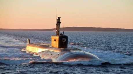 غواصة نووية استراتيجية روسية