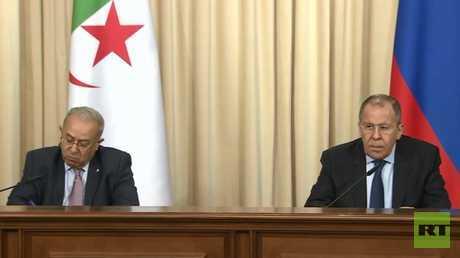 لافروف: نعارض أي تدخل خارجي في شؤون الجزائر