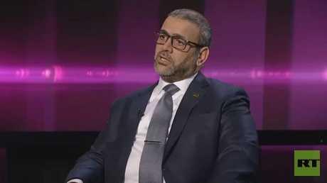 رئيس مجلس الدولة الليبي خالد المشري
