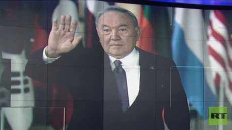 نزاربايف يستقيل من رئاسة كازاخستان