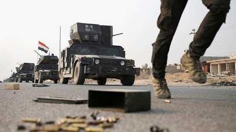 القوات الأمنية العراقية في الموصل - أرشيف