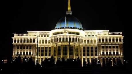 القصر الرئاسي في أستانا، كازاخستان، أرشيف