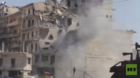 النصرة تستهدف أحياء سكنية بحلب وريفها
