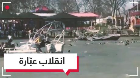 عشرات القتلى في انقلاب عبّارة بنهر دجلة