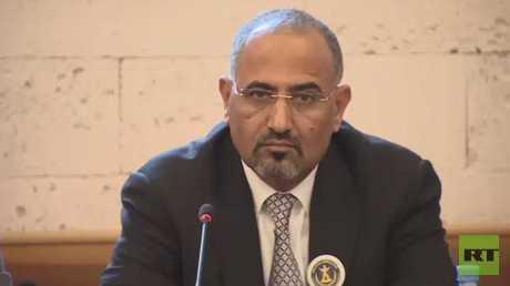 رئيس المجلس الانتقالي في جنوب اليمن اللواء عيدروس عبد العزيز الزبيدي