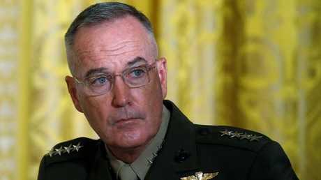 رئيس هيئة الأركان المشتركة للقوات المسلحة الأمريكية جوزيف دانفورد
