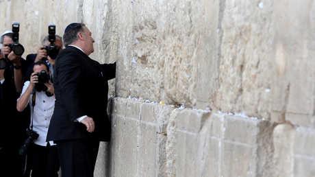 مايك بومبيو يزور حائط البراق