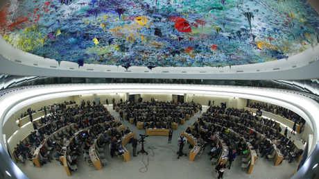 مجلس حقوق الإنسان التابع للأمم المتحدة في جنيف