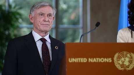 المبعوث الشخصي للأمين العام للأمم المتحدة للصحراء الغربية هورست كوهلر