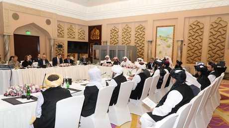 محادثات في الدوحة بين طالبان والأمريكيين