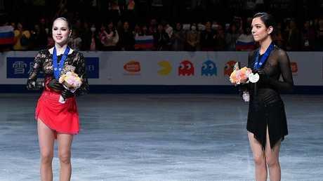شاهد.. روسيا بطلة للعالم في التزحلق الفني على الجليد