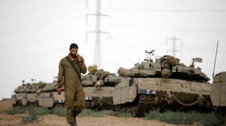 آليات عسكرية إسرائيلية - أرشيف