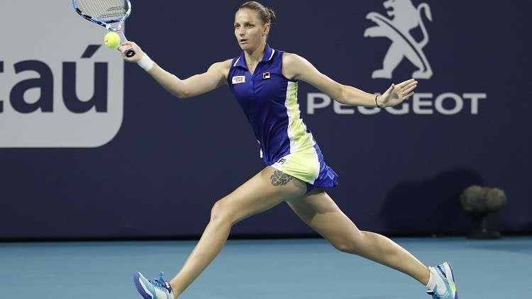 تغييرات في المراكز العشرة الأولى بالتصنيف العالمي لتنس السيدات