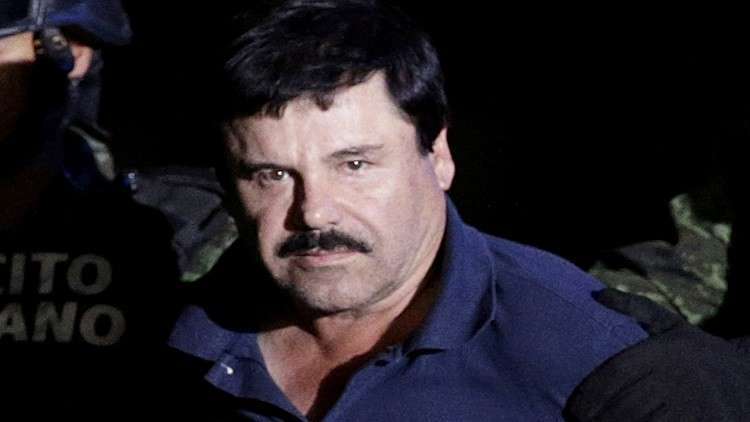 زعيم عصابة سينالوا المكسيكية خواكين غوزمان الملقب بـ