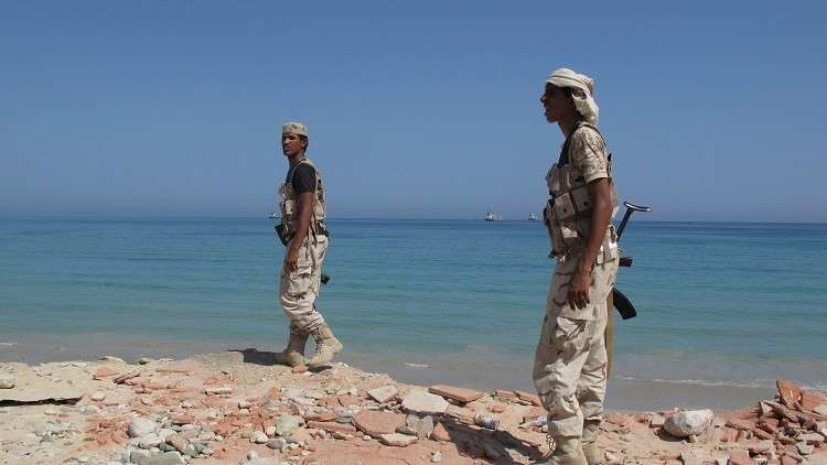 القوات اليمنية في المكلا - أرشيف