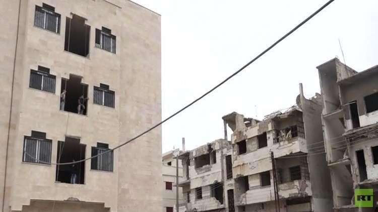 جهود حكومية لتشجيع أهالي حمص على العودة