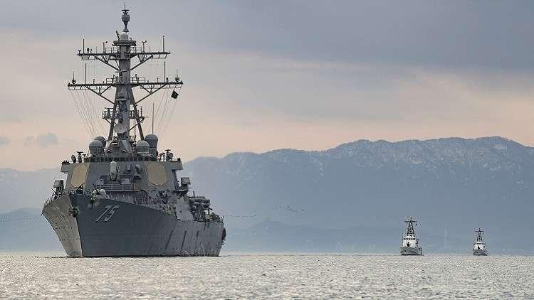 مدمرة أمريكية في مياه البحر الأسود