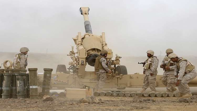 عناصر من القوات السعودية
