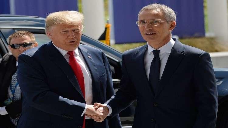 ستولتنبرغ يدافع عن ترامب في مطلبه زيادة إنفاق أعضاء الناتو