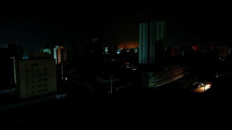مدينة ماراكايبو الفنزويلية أثناء انقطاع الكهرباء