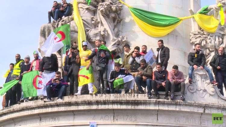 جزائريو المهجر يرحبون بالتغيرات في وطنهم