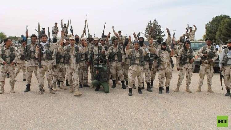 بالصور.. الجيش الليبي يدخل مدينة صرمان غرب العاصمة طرابلس