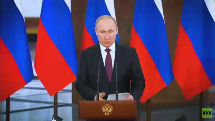 بوتين يطلق حملة