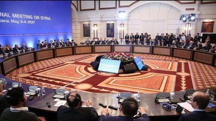 جولة من مفاوضات أستانا (صورة أرشيفية)