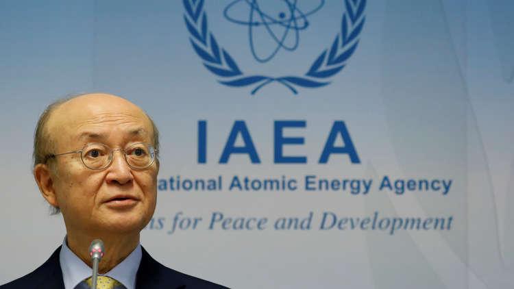 المدير العام للوكالة الدولية للطاقة الذرية، يوكيا أمانو