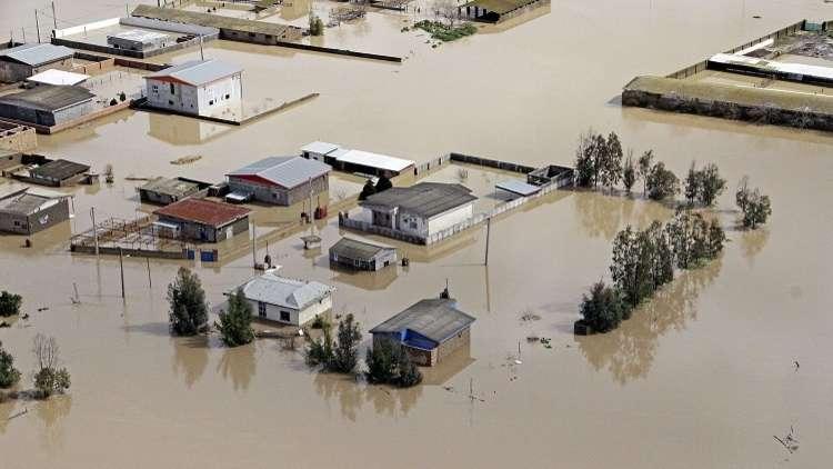 وزير الداخلية الإيراني: السيول تهدد نحو 400 ألف شخص في محافظة خوزستان