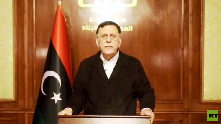السراج: حفتر انقلب على الاتفاق السياسي وأعلن الحرب على المدن الليبية والعاصمة
