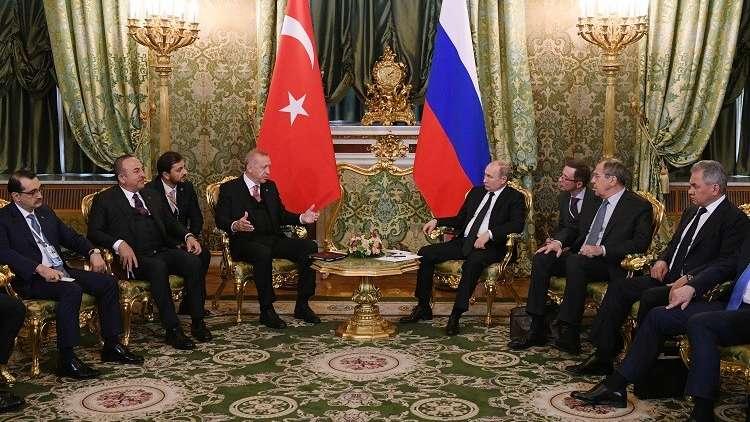 بوتين وأردوغان يتفقدان سير تنفيذ مشروعات الطاقة الثنائية