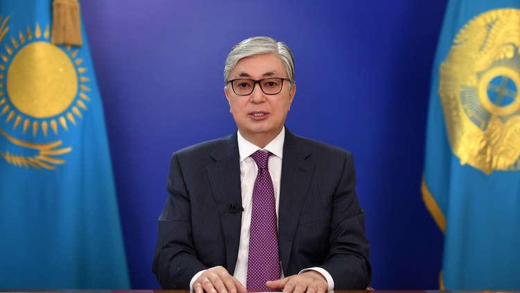 الرئيس الكازاخستاني قاسم جومارت توكايف يوجه رسالة متلفزة للأمة، 9 أبريل 2019