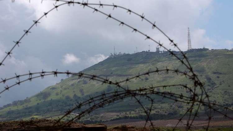 موقع عسكري إسرائيلي في مرتفعات الجولان المحتلة