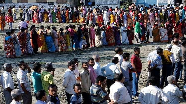 انطلاق الانتخابات التشريعية في الهند