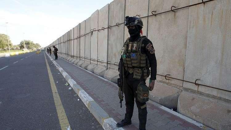 المنطقة الخضراء المحصنة وسط العاصمة العراقية بغداد - أرشيف
