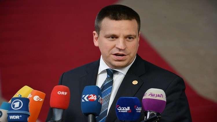 تقطّع السبل برئيس الوزراء الإستوني والوفد المرافق له في بروكسل