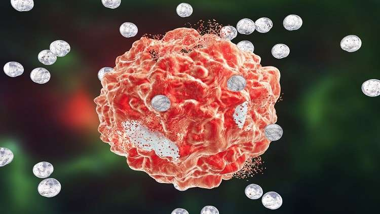 Detect cancer weaknesses after disassembly.