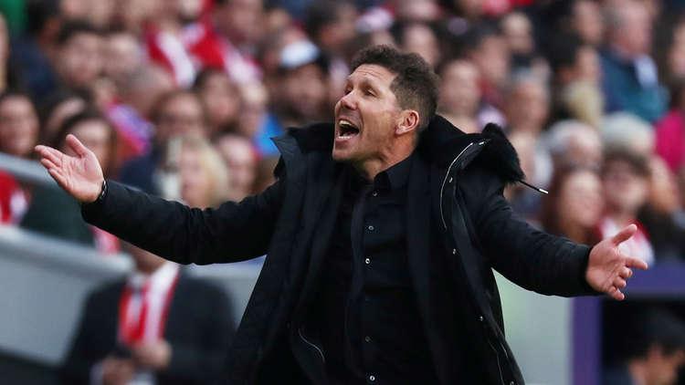 رد فعل مدرب أتلتيكو مدريد بعد إيقاف كوستا 8 مباريات!