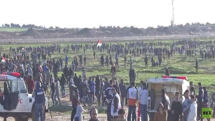 مقتل طفل فلسطيني برصاص إسرائيلي في غزة