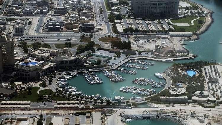 صورة من الجو لمدينة ابو ظبي