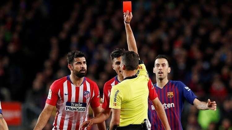 الاتحاد الإسباني يرفض استئناف أتلتيكو مدريد لعقوبة كوستا