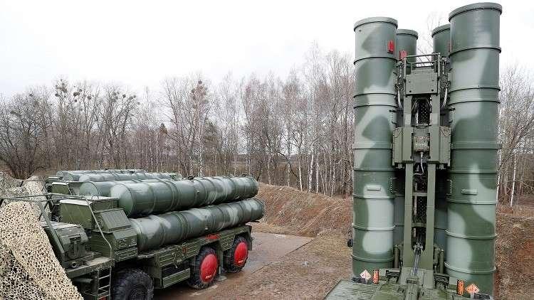 منظومة صواريخ إس - 400 الروسية - أرشيف