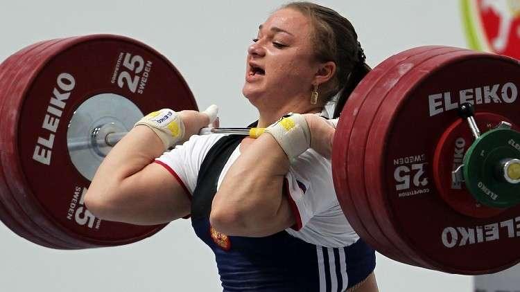 الروسية كاشيرينا تحرز ذهبية بطولة أوروبا لرفع الأثقال وتحقق رقمين قياسيين
